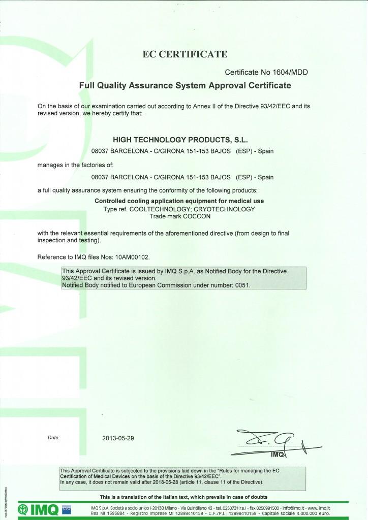Certificate Crio