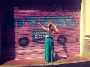 natali shoppingova pink bus